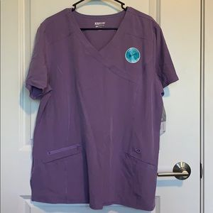 Scrubstar scrub top